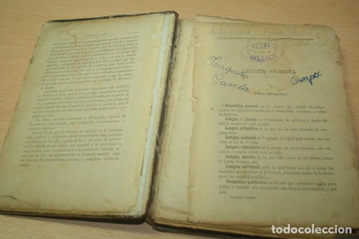 Libros antiguos: Arte Teorico practico para aprender lengua francesa - Antonio Gaspar del Campo - 1886 - Foto 6 - 133339478