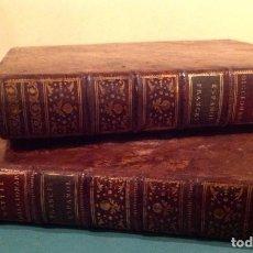 Libros antiguos: DICCIONARIO DE FRANCÉS ESPAÑOL 2 TOMOS EDITÉ PAR CHEZ BRUYSET, IMPRIMEURS, LYON (1803) OBRA COMPLET. Lote 133721430
