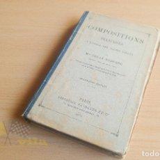 Libros antiguos: COMPOSITIONS FRANÇAISES - CÉCILE REGNARD - LIBRAIRIE HACHETTE - 1875. Lote 136546774