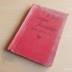 Libros antiguos: LENGUA FRANCESA - A. PERRIER - 1924 - CON SELLO DE PROPAGANDA MISIONERA. Lote 136549750