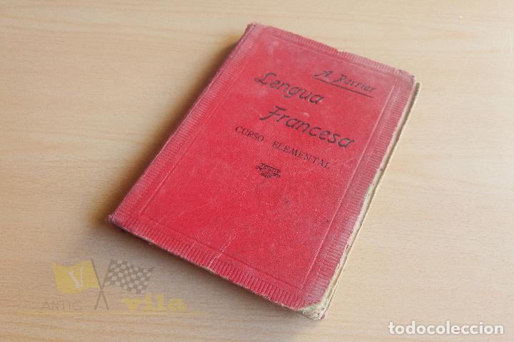LENGUA FRANCESA - A. PERRIER - 1923 (Libros Antiguos, Raros y Curiosos - Cursos de Idiomas)