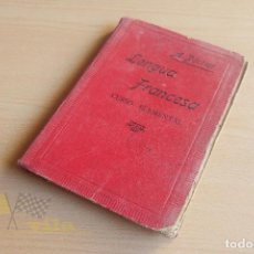 Libros antiguos: LENGUA FRANCESA - A. PERRIER - 1923. Lote 136549890