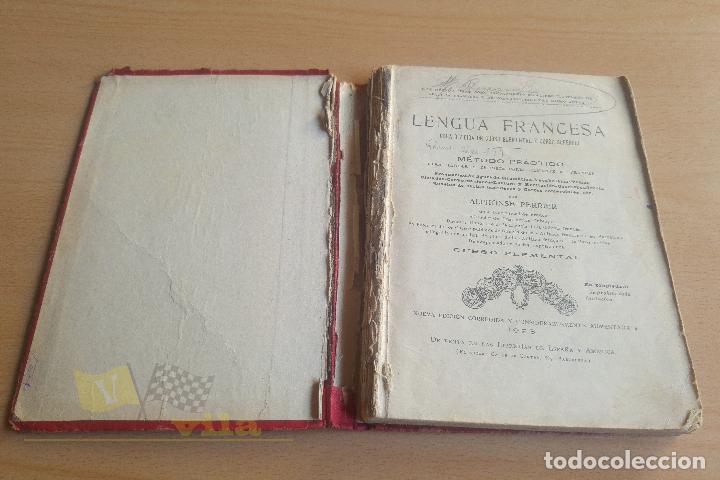 Libros antiguos: Lengua francesa - A. Perrier - 1923 - Foto 3 - 136549890