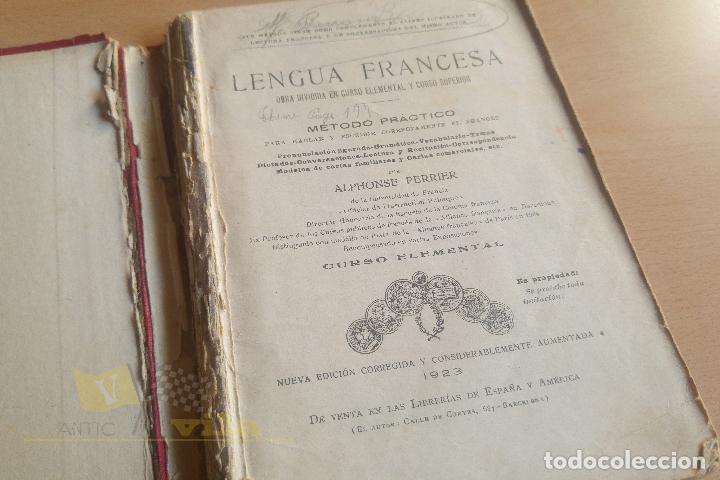 Libros antiguos: Lengua francesa - A. Perrier - 1923 - Foto 4 - 136549890
