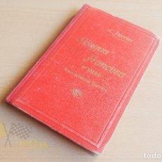 Libros antiguos: LENGUA FRANCESA - CURSO ELEMENTAL COMPLETO - ALPHONSE PERRIER - 1903. Lote 136552278