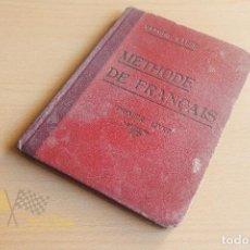 Libros antiguos: METHODE DE FRANÇAIS - PRIMER LIVRE - METODO MASSÉ - 1921. Lote 136552674