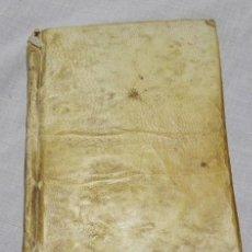 Libros antiguos: GRAMÁTICA LATINA- P.CALISTO HORNERO - MADRID 1858 - CUBIERTA DE PERGAMINO. Lote 140156654