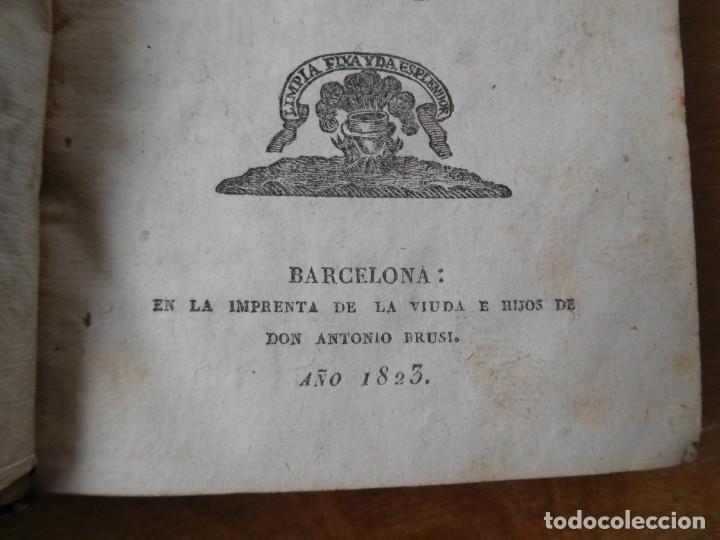 Libros antiguos: Libro ortografía de la lengua castellana Barcelona año 1823 - Foto 2 - 140284546