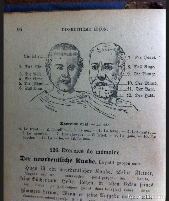 Libros antiguos: Le première année dAllemand - Halbwachs y Weber - Edit. Armand Colin, París, 1912 - Foto 2 - 140555870