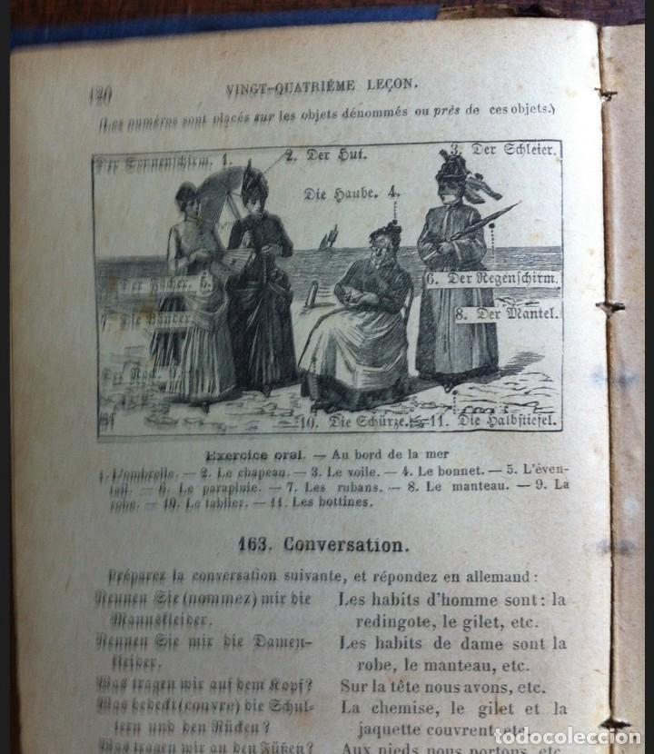 Libros antiguos: Le première année dAllemand - Halbwachs y Weber - Edit. Armand Colin, París, 1912 - Foto 3 - 140555870