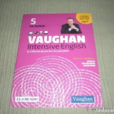 Libros antiguos: VAUGHAN INTENSIVE ENGLISH - LOTE 40 CDS. Lote 143051558