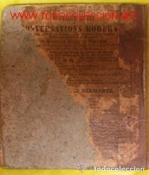 Libros antiguos: ANTIGUA GUIA FRANCESA DE CONVERSACION EN 6 IDIOMAS DEL SIGLO XIX - Foto 4 - 145771666