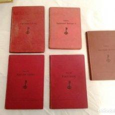 Libros antiguos: BERLITZ LIBROS IDIOMAS ANTIGUOS 3 INGLÉS Y 2 FRANÇAIS. Lote 146004006