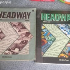 Libros antiguos: HEADWAY STUDENT'S BOOK - ADVANCED - JOHN & LIZ SOARS HEADWAY STUDENT'S BOOK AND WORKBOOK. Lote 153810246