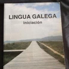 Libros antiguos: LINGUA GALEGA INICIACION. Lote 154517890