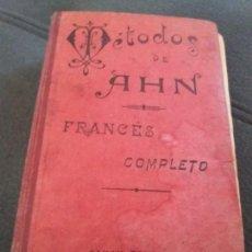 Libros antiguos: METODOS DE AHN -FRANCES COMPLETO - 1 Y 2 CURSO. Lote 156707970