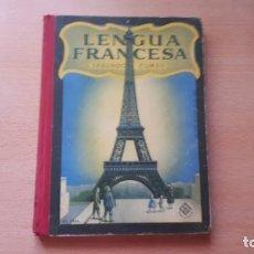 Libros antiguos: LENGUA FRANCESA SEGUNDO CURSO POR EDELVIVES-2. Lote 158241558