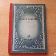 Libros antiguos: LENGUA FRANCESA SEGUNDO AÑO CLAVE DE LOS EJERCICIOS POR EDEL VIVES. Lote 158241682