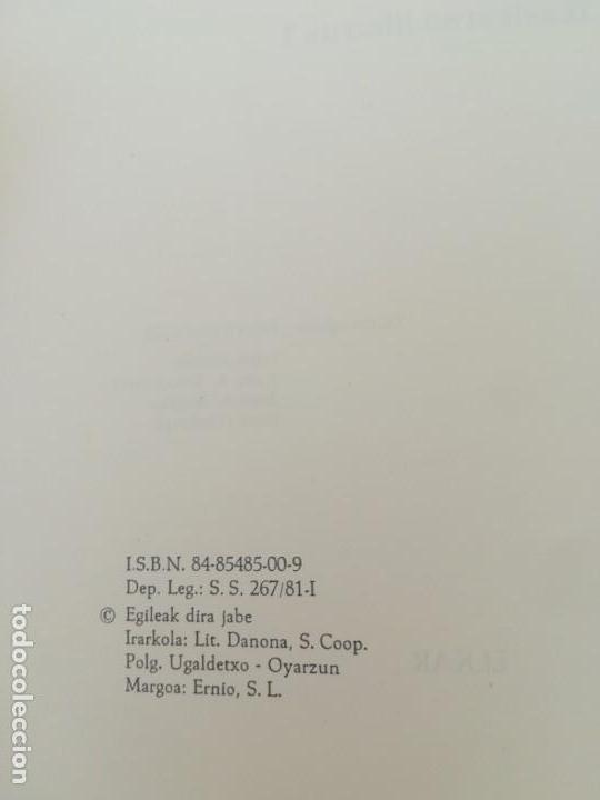 Libros antiguos: APRENDER VASCO - JALGI HADI - IKASLEAREN LIBURUA I - HONDARRAITZ - Foto 2 - 163424982