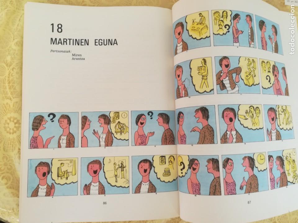 Libros antiguos: APRENDER VASCO - JALGI HADI - IKASLEAREN LIBURUA I - HONDARRAITZ - Foto 4 - 163424982