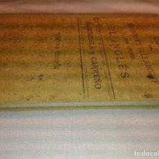 Libros antiguos: CLAVE DEL METODO DE OLLENDORFF PARA APRENDER EL INGLES, 1928. Lote 163527074