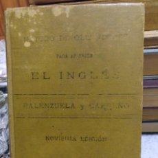 Libros antiguos: MÉTODO DE OLLENDORFF PARA INGLÉS 1898. Lote 165403174