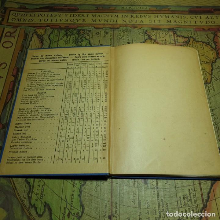 Libros antiguos: ILLUSTRÉE POUR LES ENFANTS. MÉTHODE BERLITZ. M.D. BERLITZ. ÉDITION EUROPÉENNE. 1909. - Foto 2 - 165676218
