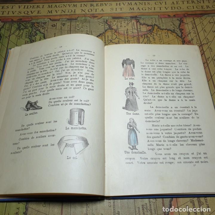 Libros antiguos: ILLUSTRÉE POUR LES ENFANTS. MÉTHODE BERLITZ. M.D. BERLITZ. ÉDITION EUROPÉENNE. 1909. - Foto 5 - 165676218
