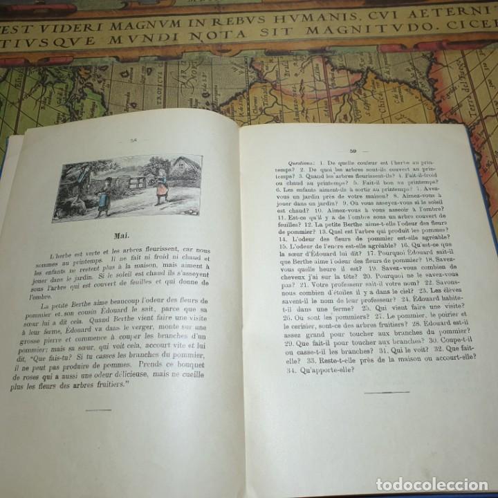 Libros antiguos: ILLUSTRÉE POUR LES ENFANTS. MÉTHODE BERLITZ. M.D. BERLITZ. ÉDITION EUROPÉENNE. 1909. - Foto 6 - 165676218