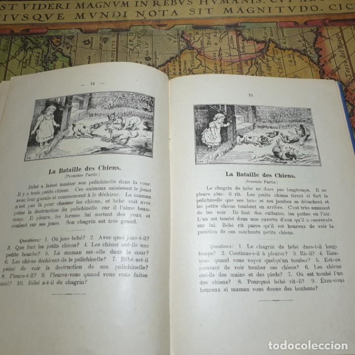 Libros antiguos: ILLUSTRÉE POUR LES ENFANTS. MÉTHODE BERLITZ. M.D. BERLITZ. ÉDITION EUROPÉENNE. 1909. - Foto 7 - 165676218