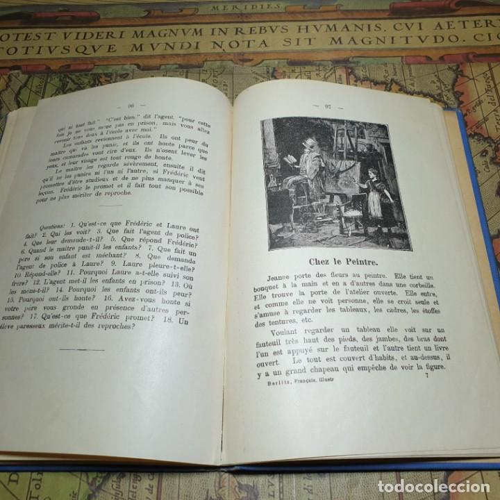 Libros antiguos: ILLUSTRÉE POUR LES ENFANTS. MÉTHODE BERLITZ. M.D. BERLITZ. ÉDITION EUROPÉENNE. 1909. - Foto 8 - 165676218