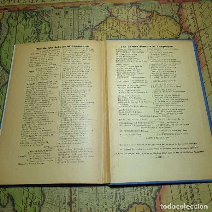 Libros antiguos: ILLUSTRÉE POUR LES ENFANTS. MÉTHODE BERLITZ. M.D. BERLITZ. ÉDITION EUROPÉENNE. 1909. - Foto 9 - 165676218