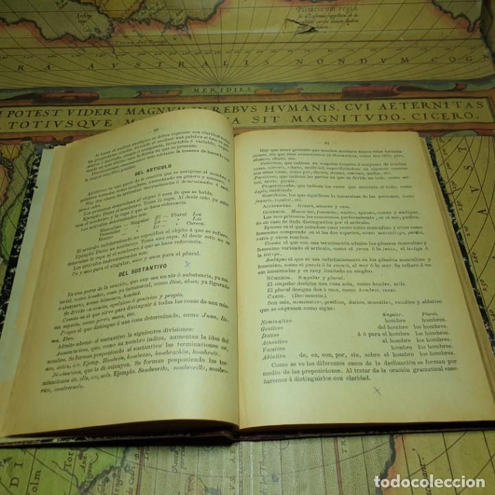 Libros antiguos: NOCIONES DE GRAMÁTICA FRANCESA. F.F.G. NO CONSTA AÑO. - Foto 4 - 165677266