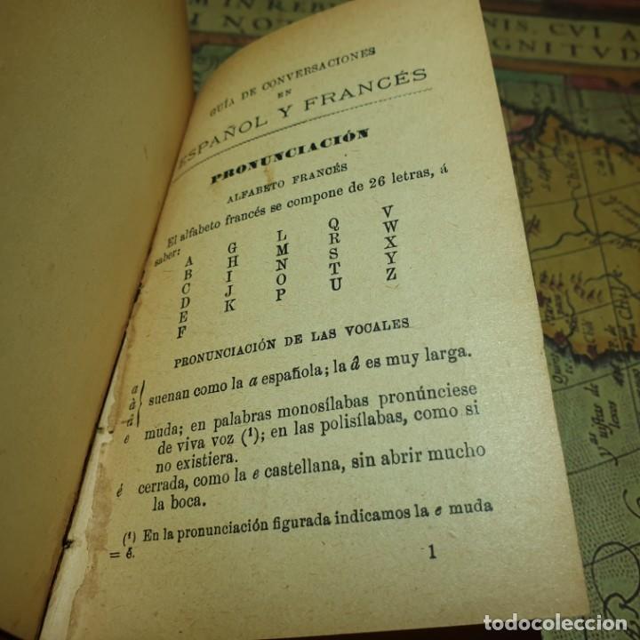 Libros antiguos: NOVÍSIMA GUÍA DE CONVERSACIONES. BAILLY-BALLIERE É HIJOS. - Foto 3 - 166443290