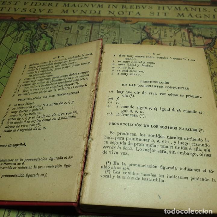 Libros antiguos: NOVÍSIMA GUÍA DE CONVERSACIONES. BAILLY-BALLIERE É HIJOS. - Foto 4 - 166443290