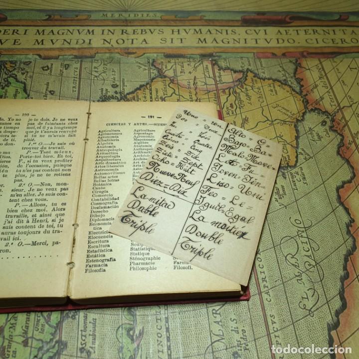 Libros antiguos: NOVÍSIMA GUÍA DE CONVERSACIONES. BAILLY-BALLIERE É HIJOS. - Foto 5 - 166443290