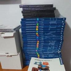 Libros antiguos: CURSO COMPLETO BBC ENGLISH CON 20 TOMOS DVD Y CD Y CUADERNOS DE EJERCICIO. Lote 168137200