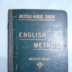 Libros antiguos: ENGLISH METHOD. Lote 168620744