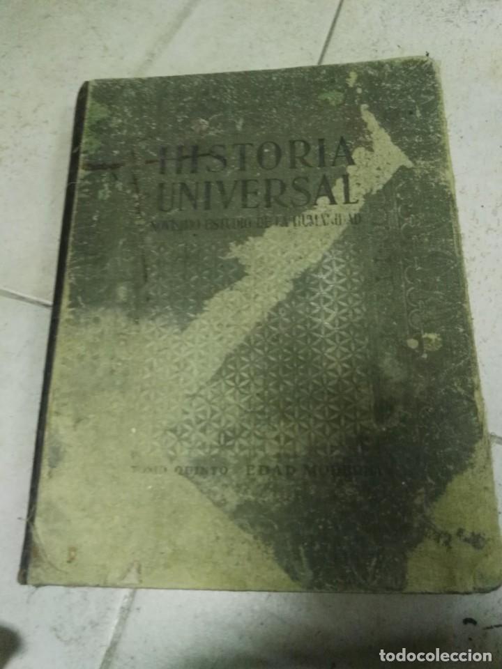HISTORIA UNIVERSAL.NOVÌSIMO ESTUDIO DE LA HUMANIDAD.TOMO 5:EDAD MODERNA (Libros Antiguos, Raros y Curiosos - Cursos de Idiomas)