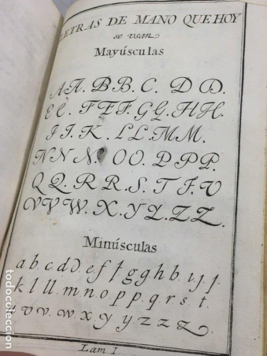 Libros antiguos: Ortografía de la lengua castellana, Real Academia Española. Imprenta Real 1826 con láminas grabadas - Foto 5 - 172800722