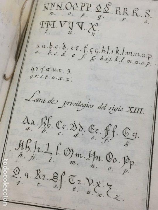 Libros antiguos: Ortografía de la lengua castellana, Real Academia Española. Imprenta Real 1826 con láminas grabadas - Foto 8 - 172800722