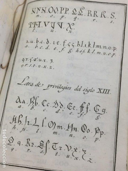 Libros antiguos: Ortografía de la lengua castellana, Real Academia Española. Imprenta Real 1826 con láminas grabadas - Foto 10 - 172800722