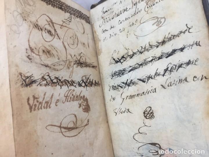 Libros antiguos: Nuevo epítome de gramática latina o método seguro enseñar latin principiante 1817 plena piel Madrid - Foto 8 - 173181703