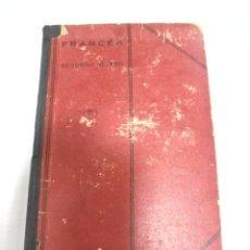 Libros antiguos: LENGUA FRANCESA. SEGUNDO CURSO. E.UGARTE. QUINTA EDICION. 1930. MADRID. Lote 174055210