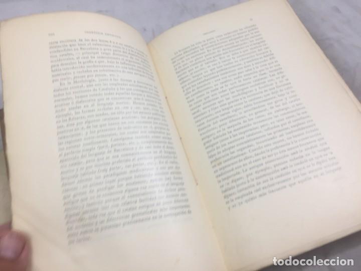 Libros antiguos: Gramatica de la Lengua Catalana. Pompeyo Pompeu Fabra.Tipografía lAvenç, 1912 - Foto 4 - 175475264