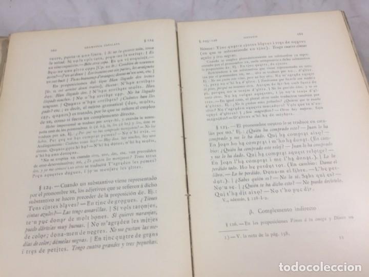 Libros antiguos: Gramatica de la Lengua Catalana. Pompeyo Pompeu Fabra.Tipografía lAvenç, 1912 - Foto 10 - 175475264