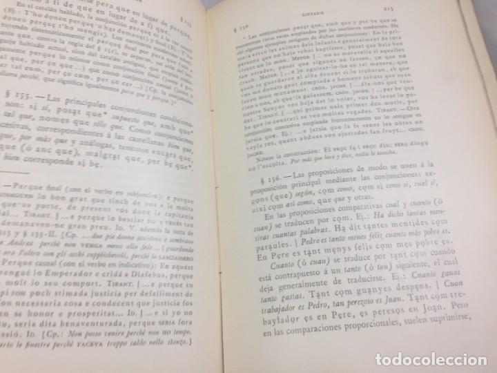Libros antiguos: Gramatica de la Lengua Catalana. Pompeyo Pompeu Fabra.Tipografía lAvenç, 1912 - Foto 11 - 175475264