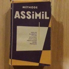 Libros antiguos: METHODE ASSIMIL , A .CHEREL ,. Lote 176610569