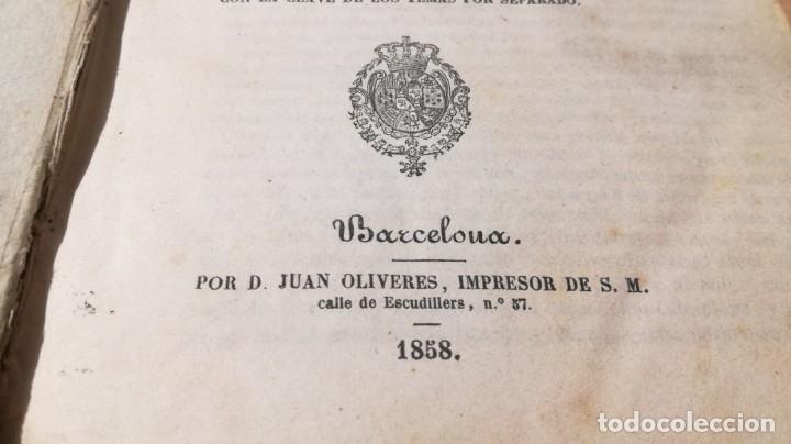 Libros antiguos: GRAMATICA FRANCESA - ANTONIO BERGNES DE LAS CASAS - JUAN OLIVARES IMPRESOR BARCELONA 1858 - Foto 5 - 180276958