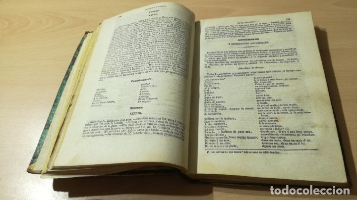 Libros antiguos: GRAMATICA FRANCESA - ANTONIO BERGNES DE LAS CASAS - JUAN OLIVARES IMPRESOR BARCELONA 1858 - Foto 8 - 180276958